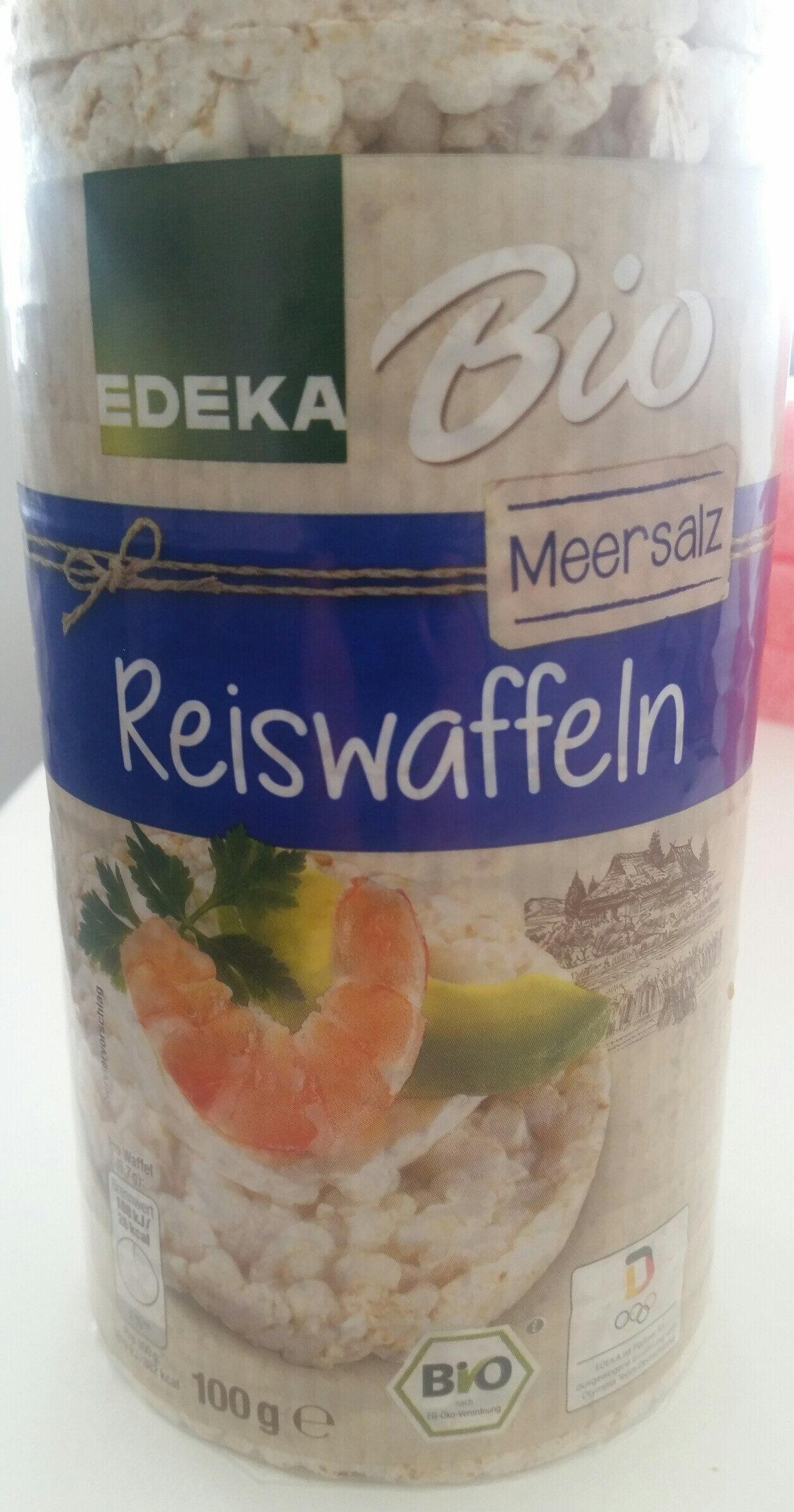 Edeka Bio Reiswaffeln mit Meersalz, Reiswaffeln - Produkt