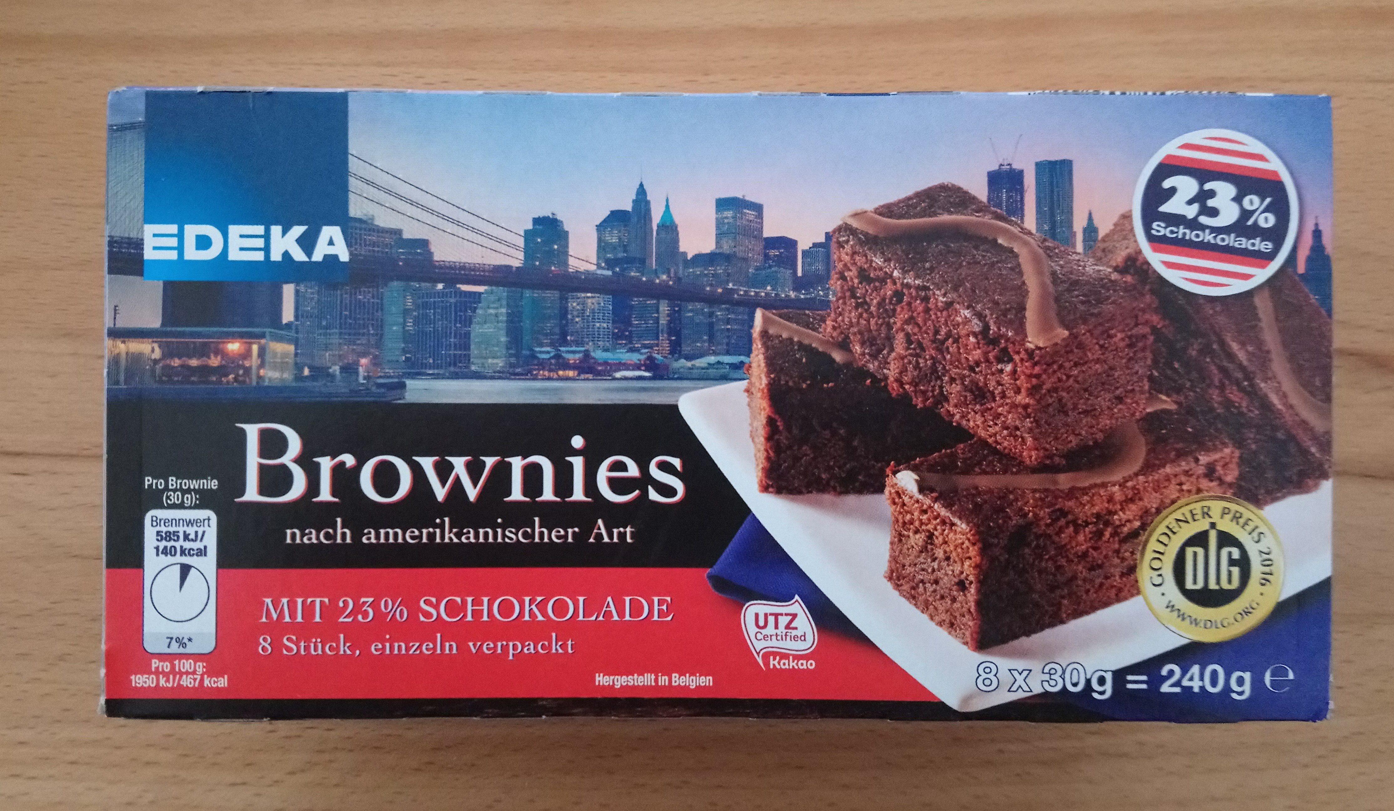 Brownies Nach Amerikanischer Art Edeka 240g