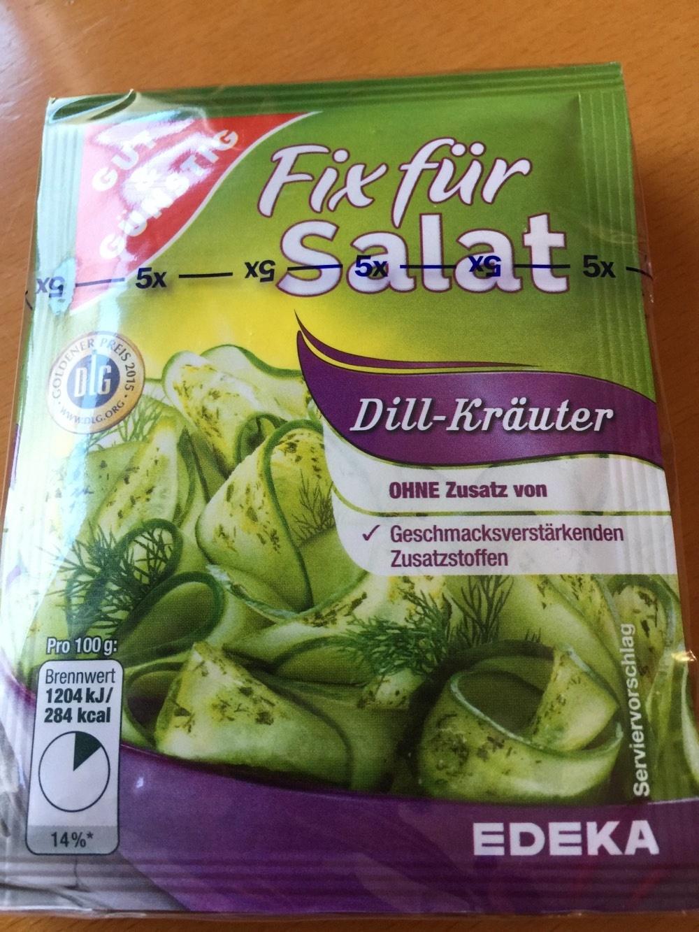 Top Fix für Salat Dill-Kräuter - Gut & Günstig - 10 g @FR_76