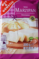 Marzipan Rohmasse - Produkt - de
