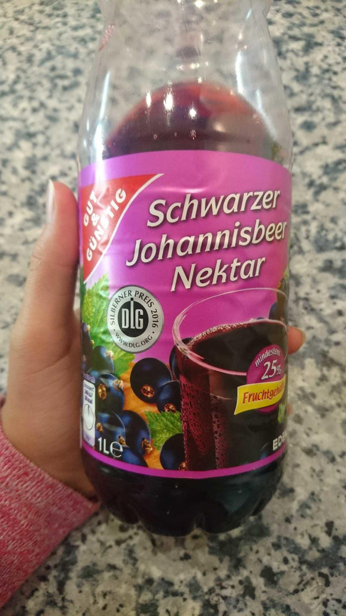 Schwarzer johannisbeer nektar - Product - de