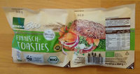 Bio Finnisch Toasties - Product