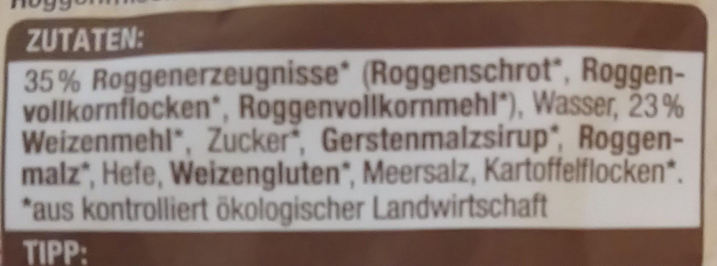 Edeka Bio Finnisch Toasties - Inhaltsstoffe - de