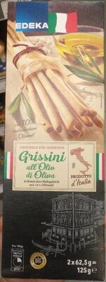 Edeka Grissini All'Olio di Oliva 125g - Product