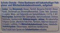 Schoko Donuts - Ingredients - de
