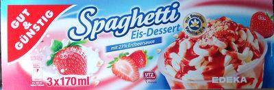 Spaghetti Eis-Dessert - Product - de