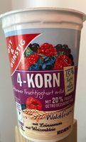 4-Korn Fettarmer Fruchtjoghurt Mild - Produit - fr