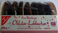 Oblaten-Lebkuchen Zartbitter - Product