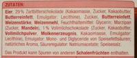 Zartbitter Baumkuchen - Ingredients