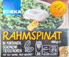 Rahmspinat - Produkt