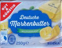 Deutsche Markenbutter - Produit