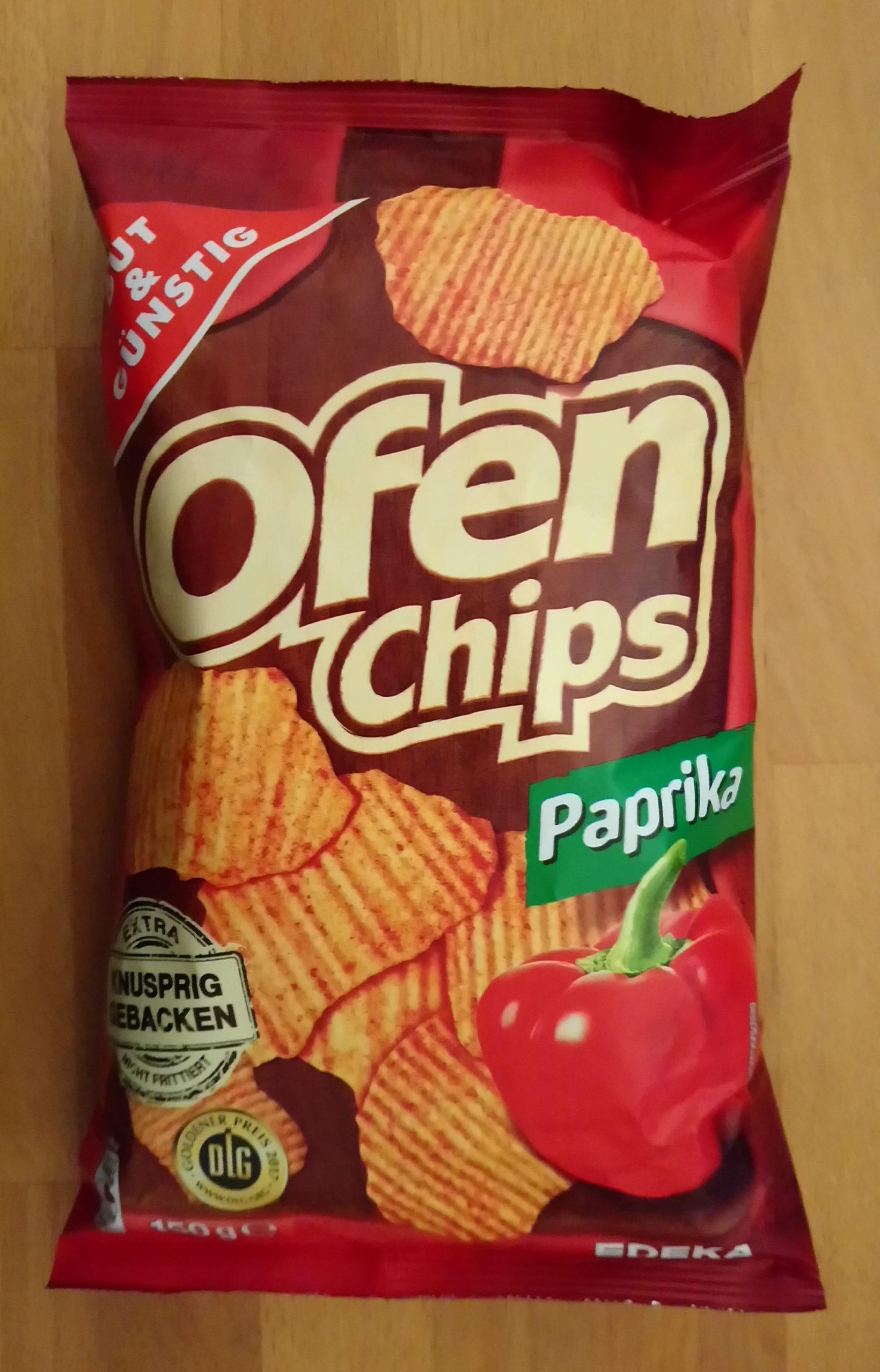 Ofenchips Paprika - Produkt