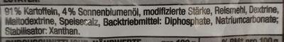 Dicke Fritte - Zutaten - de