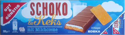 Schoko & Keks mit Milchcreme - Produkt - de