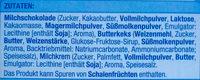 Schoko Keks mit Milchcreme - Ingredienti - de