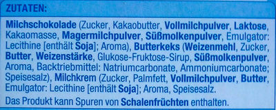 Schoko Keks mit Milchcreme - Ingredienti