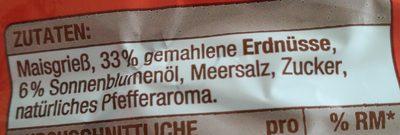Erdnuss Flips - Ingrediënten