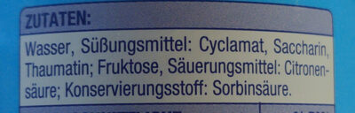 Süßstoff Flüssig - Ingrédients - de