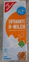 entrahmte H-Milch - Produkt - de