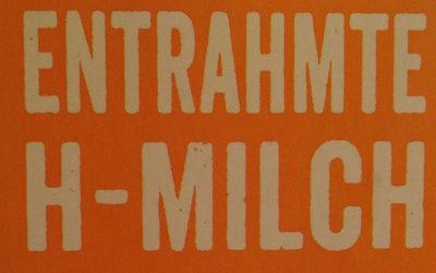 entrahmte H-Milch - Zutaten - de