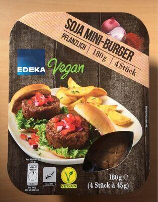 Edeka Soja Mini burger Vegan - Produit