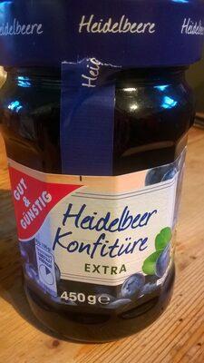 Heidelbeer Konfitüre Extra - Product - de