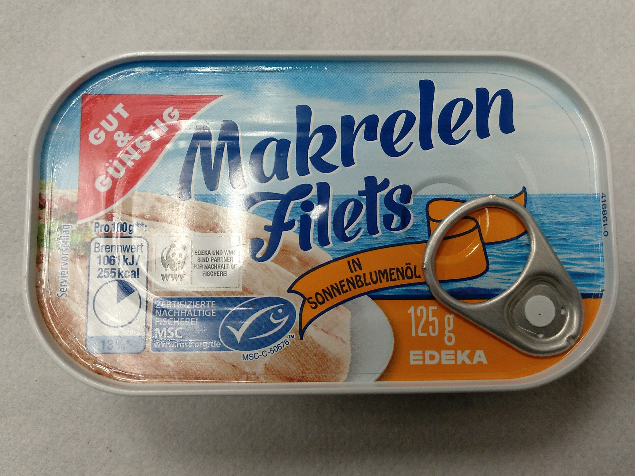 Makrelen Filets - Prodotto - de