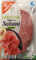 Hauchfeine Delikatess Salami geräuchtert - Product - de