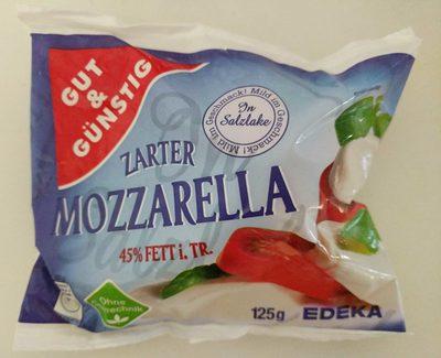 Zarter Mozzarella - Product