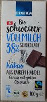 Chocolat au lait 38% - Product