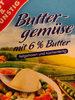 Buttergemüse mit 6% Butter - Product