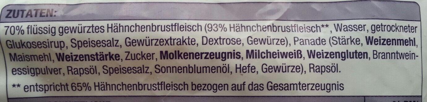 Chicken nuggets - Ingredients - de