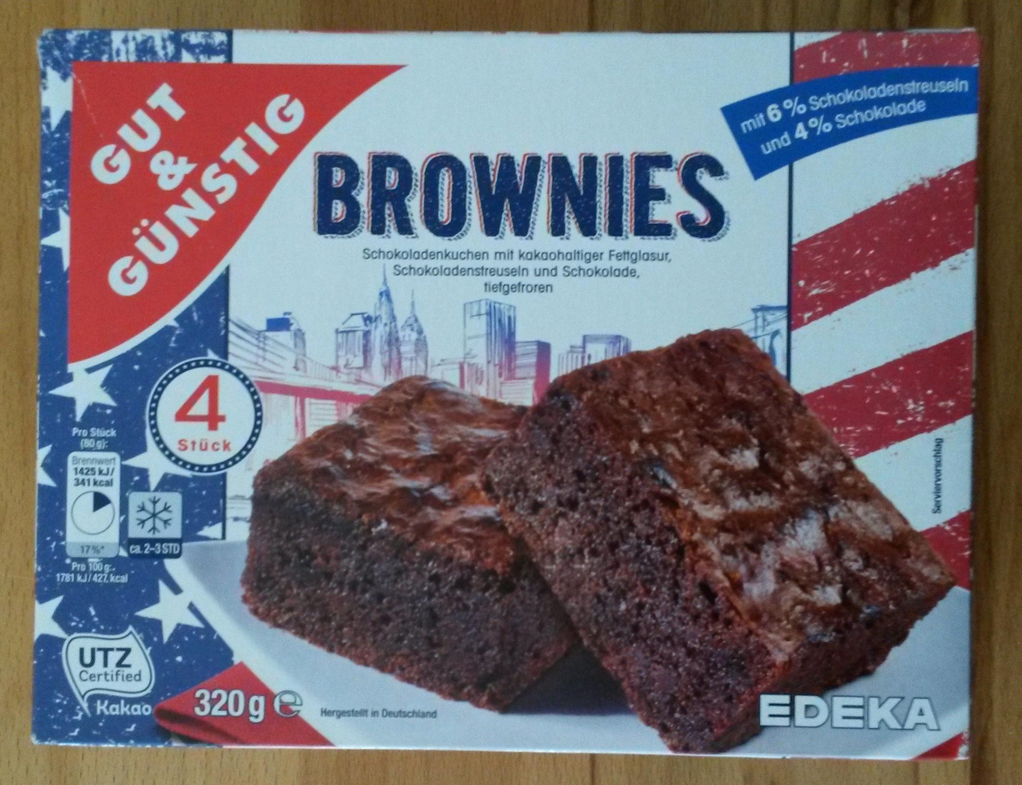 Brownies Gut Gunstig 320g
