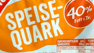 Speisequark - Ingredienti - de