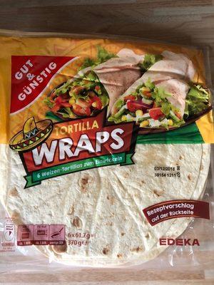 Tortilla wraps - Produkt - de