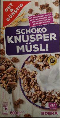 Edeka Gut & Günstig Schoko Knusper Müsli - 1