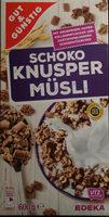 Edeka Gut & Günstig Schoko Knusper Müsli - Product
