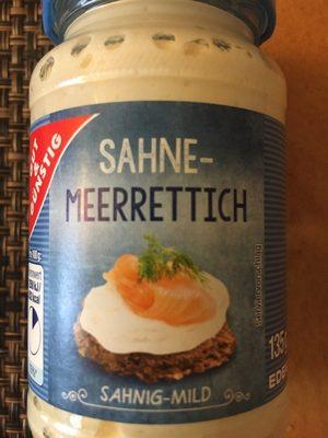 Sahne-Meerrettich - Produit - de