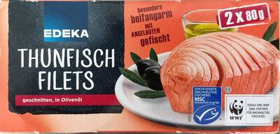 Thunfisch Filets geschnitten in Olivenöl - Produkt - de