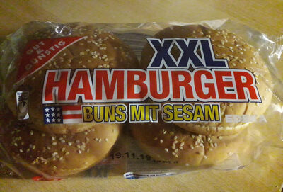 Hamburger Buns mit Sesam - Product