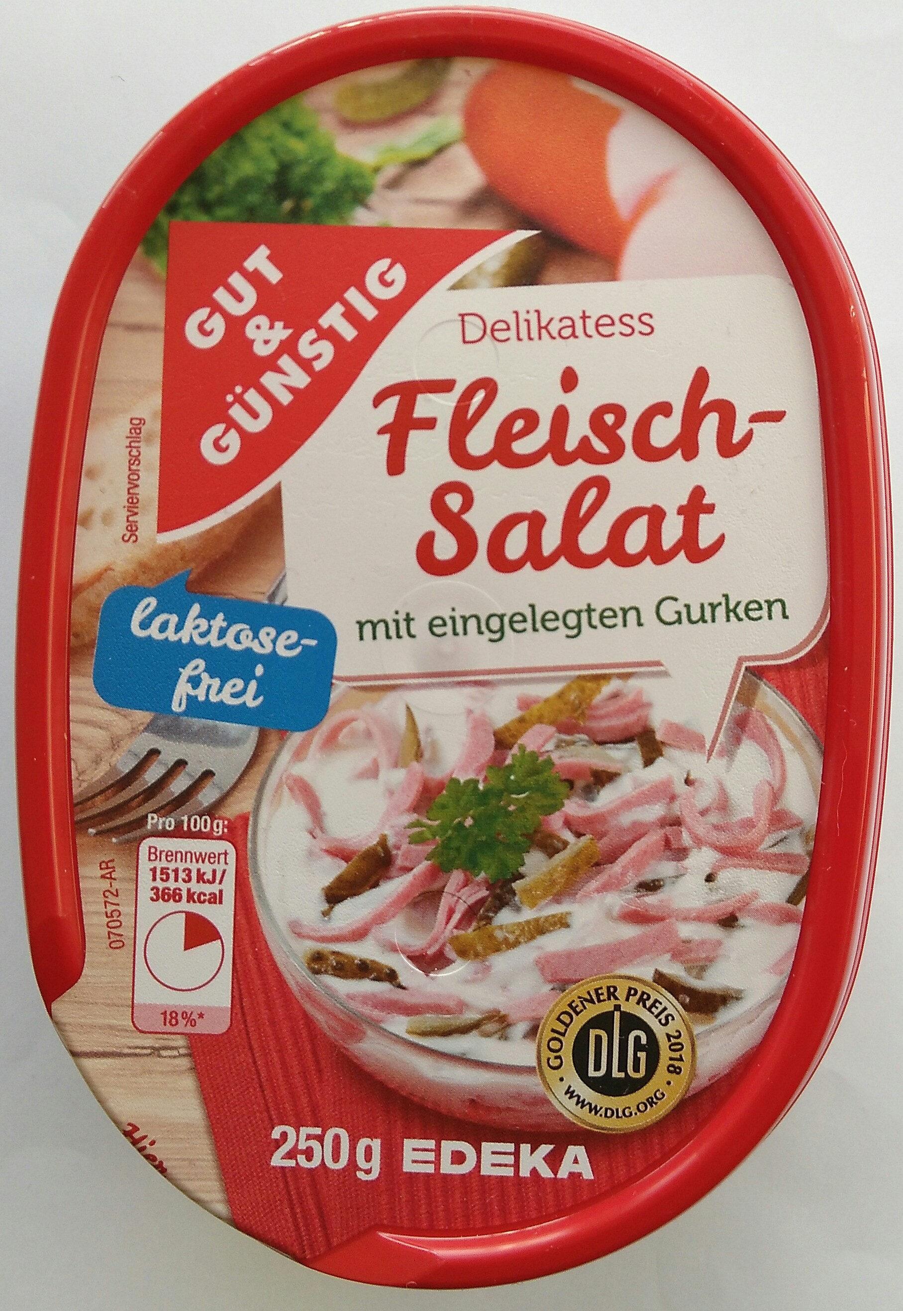 Delikatess Fleischsalat - Produit - de