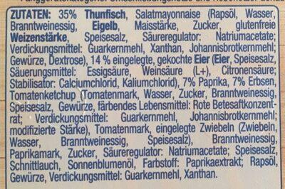 Thunfisch-Salat - Zutaten - de