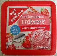 Fruchteiscreme Erdbeere - Product - de
