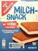 Milch-Snack mit Honig - Produkt