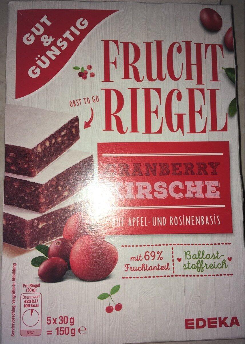 FRUCHT RIEGEL - Product