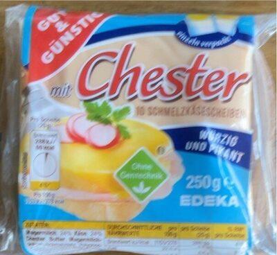 Chester Schmelzkäse - Produit - de