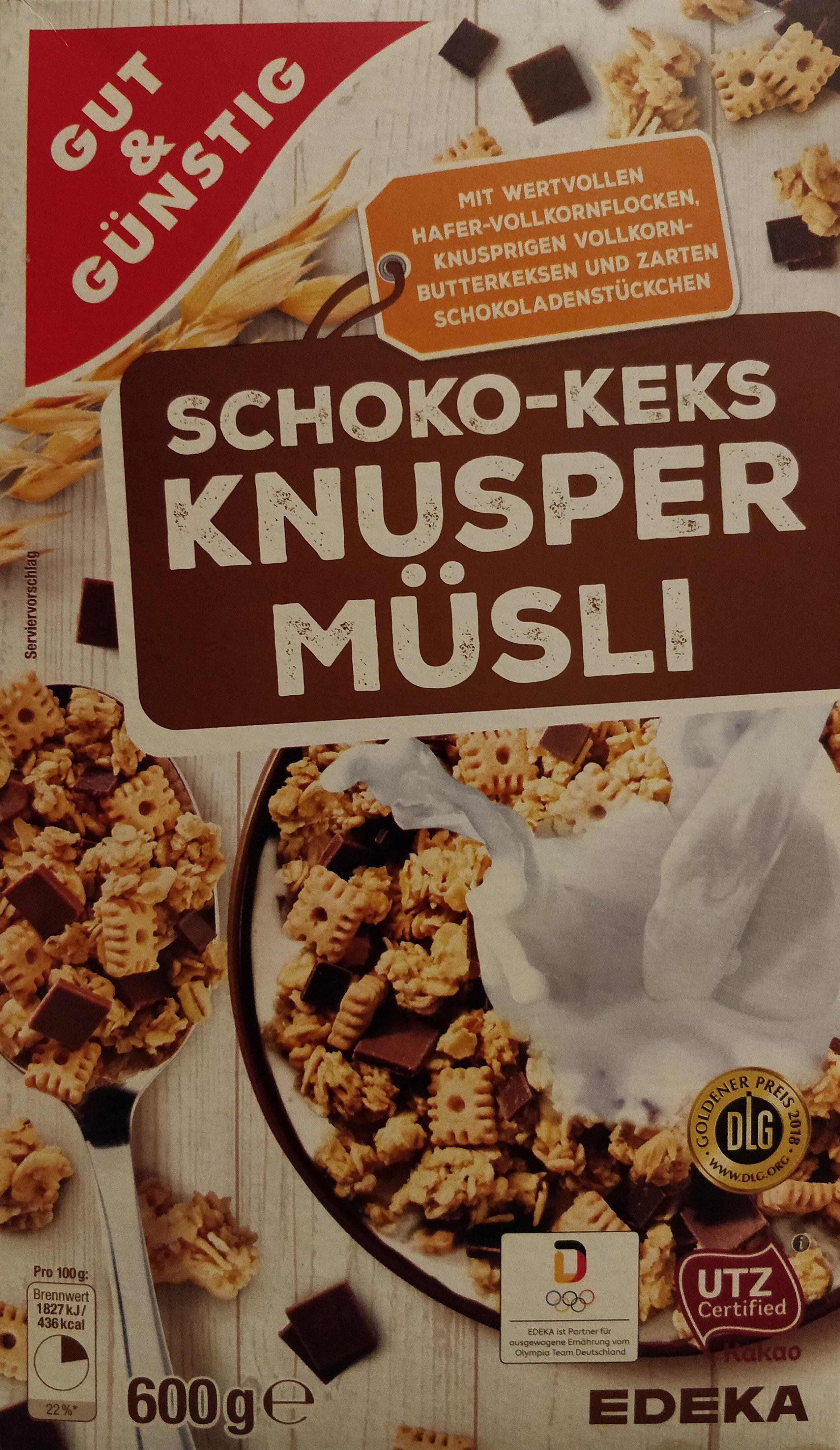 Shoko-Keks Knusper Müsli - Produit