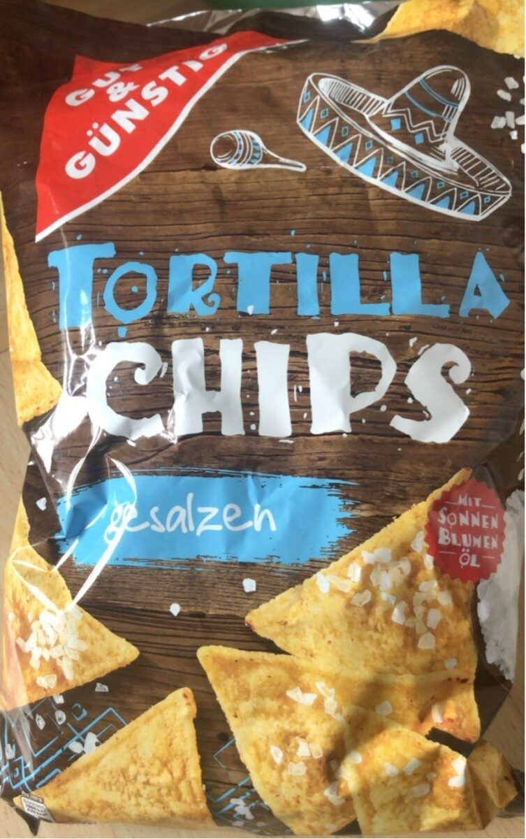 Tortilla Chips gesalzen - Prodotto - de