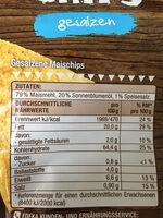 Tortilla Chips gesalzen - Valori nutrizionali - de