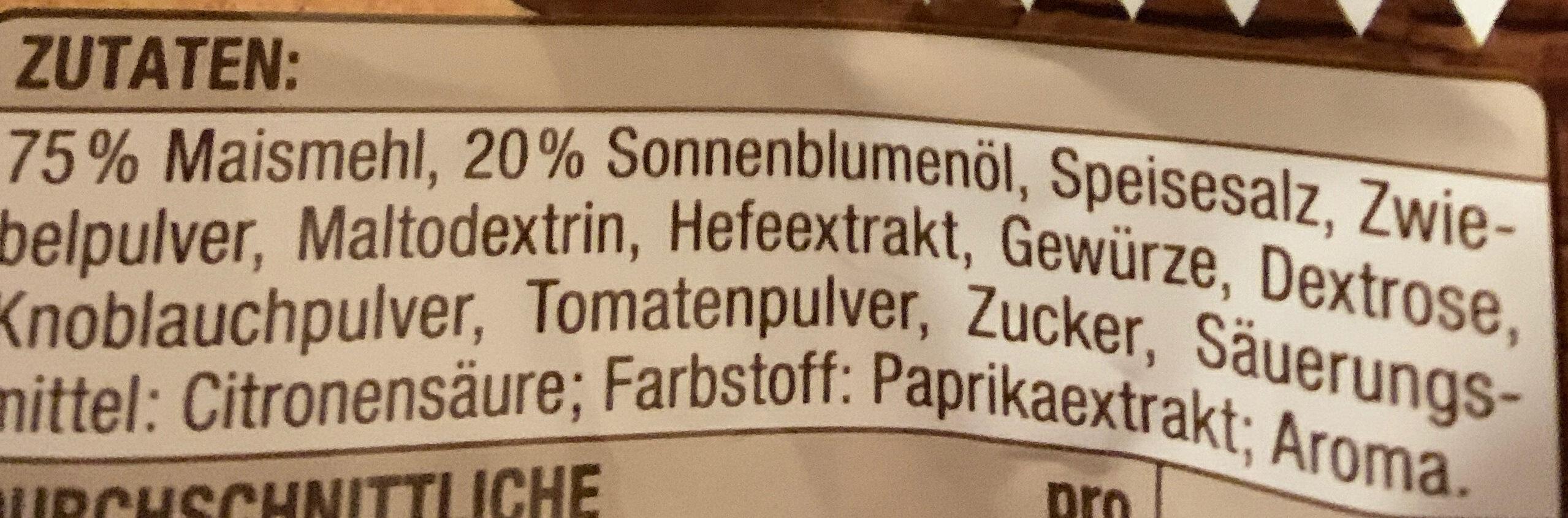 Tortilla Chips Hot Chili - Ingredients - de